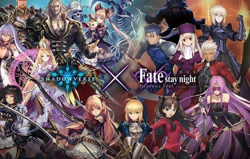 【FGO】シャドバ、Fateコラボでセルラン1位!w
